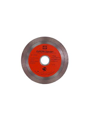 Диск алмазный 115x22.23x10мм по плитке СПЛОШНОЙ STRONG СТД-12400115