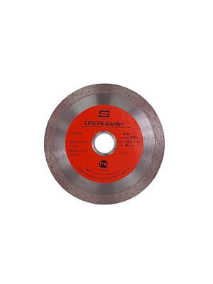 Диск алмазный 125x22.23x10мм по плитке СПЛОШНОЙ STRONG СТД-12400125