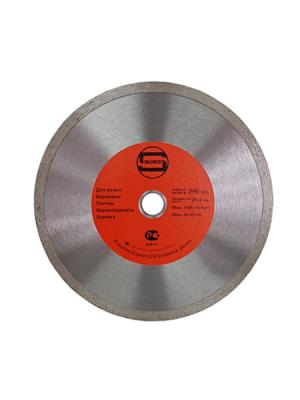 Диск алмазный 230x25.4/22.23x10мм по плитке СПЛОШНОЙ STRONG СТД-12400230