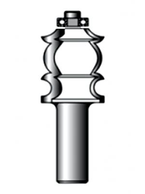 Фреза фигурная 8xD17.5xH25.4 R3.2 STRONG СТФ-20380017