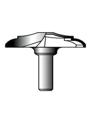 Фреза фигирейная горизонтальная 8xD50xH9 STRONG СТФ-24020050