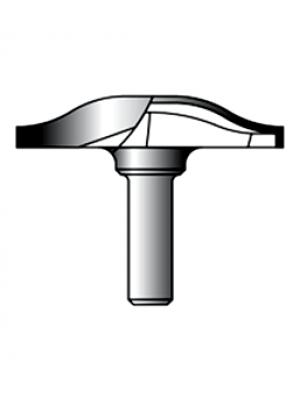 Фреза фигирейная горизонтальная 12xD60xH9 STRONG СТФ-24040060