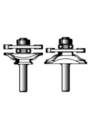 Набор фрез для соединительных пазов 8xD46xH24 STRONG СТФ-35040008