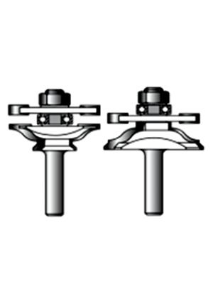 Набор фрез для соединительных пазов 12xD46xH24 STRONG СТФ-35040012