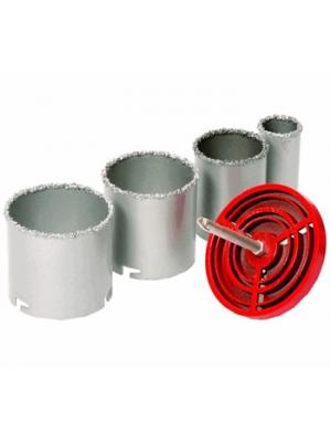 Набор коронок с карбид вольфрамовой крошкой 33-73мм STRONG СТК-05503373