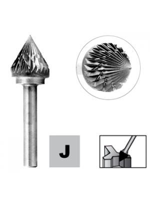 Борфреза конусная - зенкер по металлу 8мм 60° тип J (KSJ) STRONG СТМ-51770008