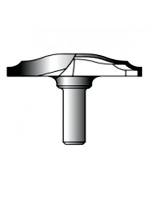 Фреза фигирейная горизонтальная 12xD60xH12 STRONG СТС-24330060