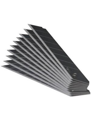 Лезвие вороненое 18мм 100x0.6мм 10шт сегментированное STRONG СТУ-23718100